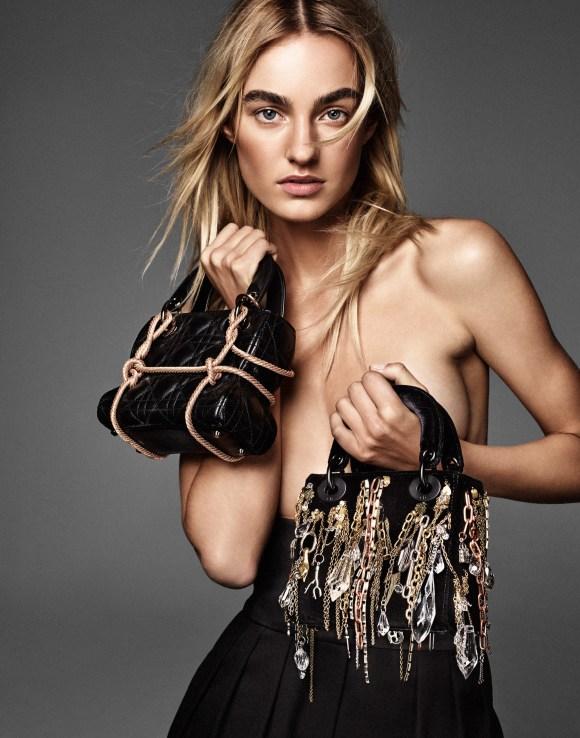 Maartje Verhoef by Jason Kim for Vogue Russia