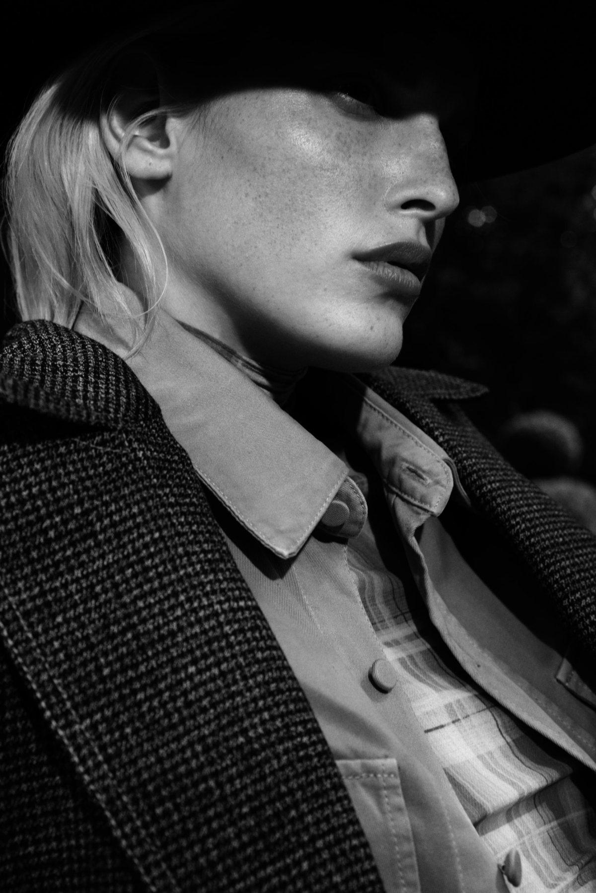 Niki Trefilova by Paul McLean for Amica