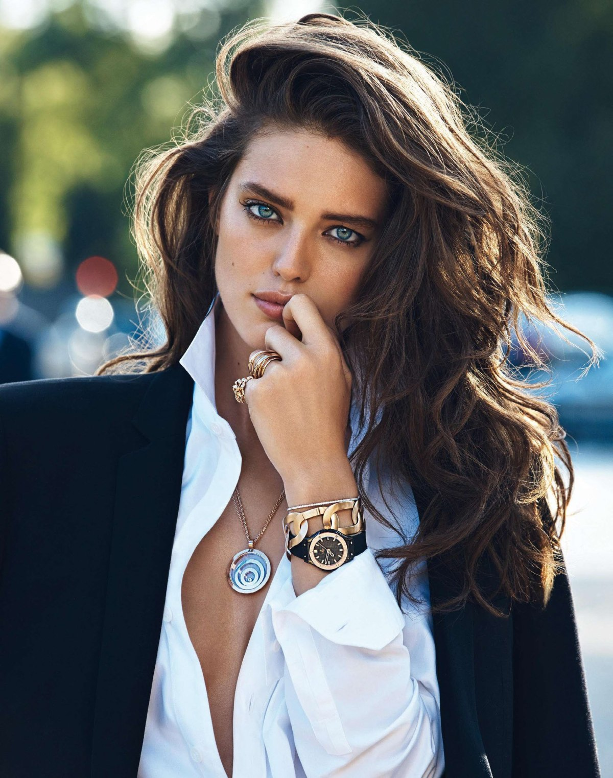 Emily DiDonato by Lachlan Bailey for Vogue Paris