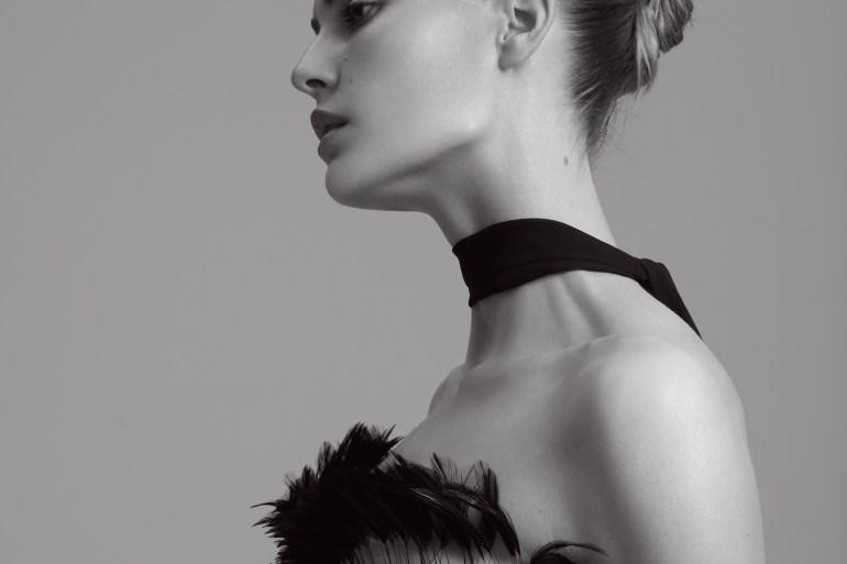 Nadja Bender by Andreas Ortner for Elle Germany