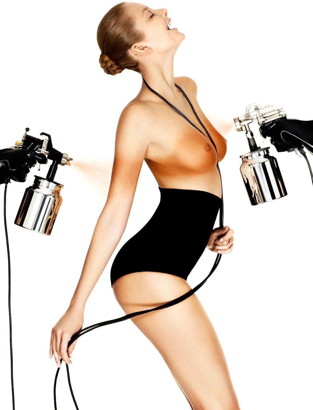 Eniko Mihalik by Giampaolo Sgura for Vogue Paris