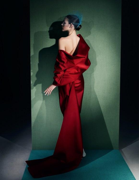 Vittoria Ceretti by Solve Sundsbo for Vogue China