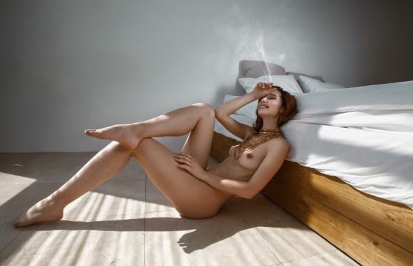 Yulya Dmitrieva by Alexey Martynov