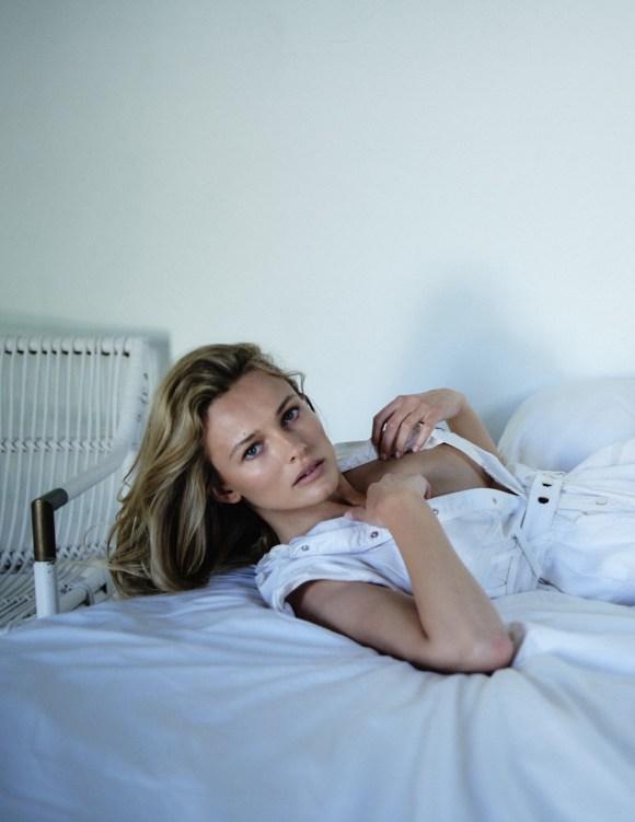 Edita Vilkeviciute by Chris Colls for Vogue Poland