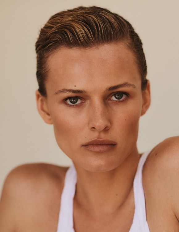 Edita Vilkeviciute by Chris Colls for Vogue Poland