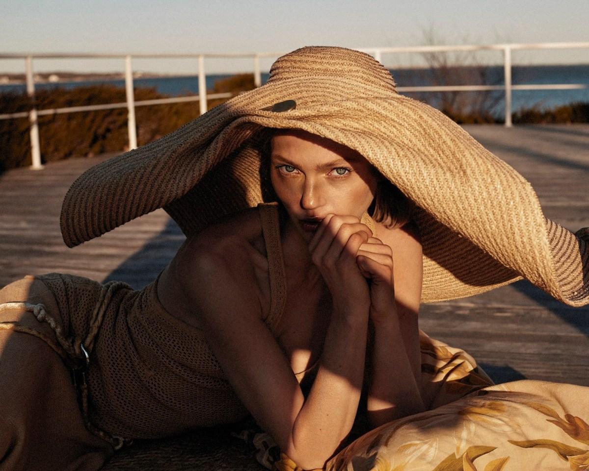 Sasha Pivovarova by Alique for Vogue Greece