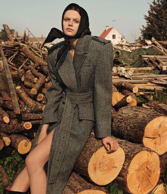 Cara Taylor by Christian MacDonald for WSJ Magazine