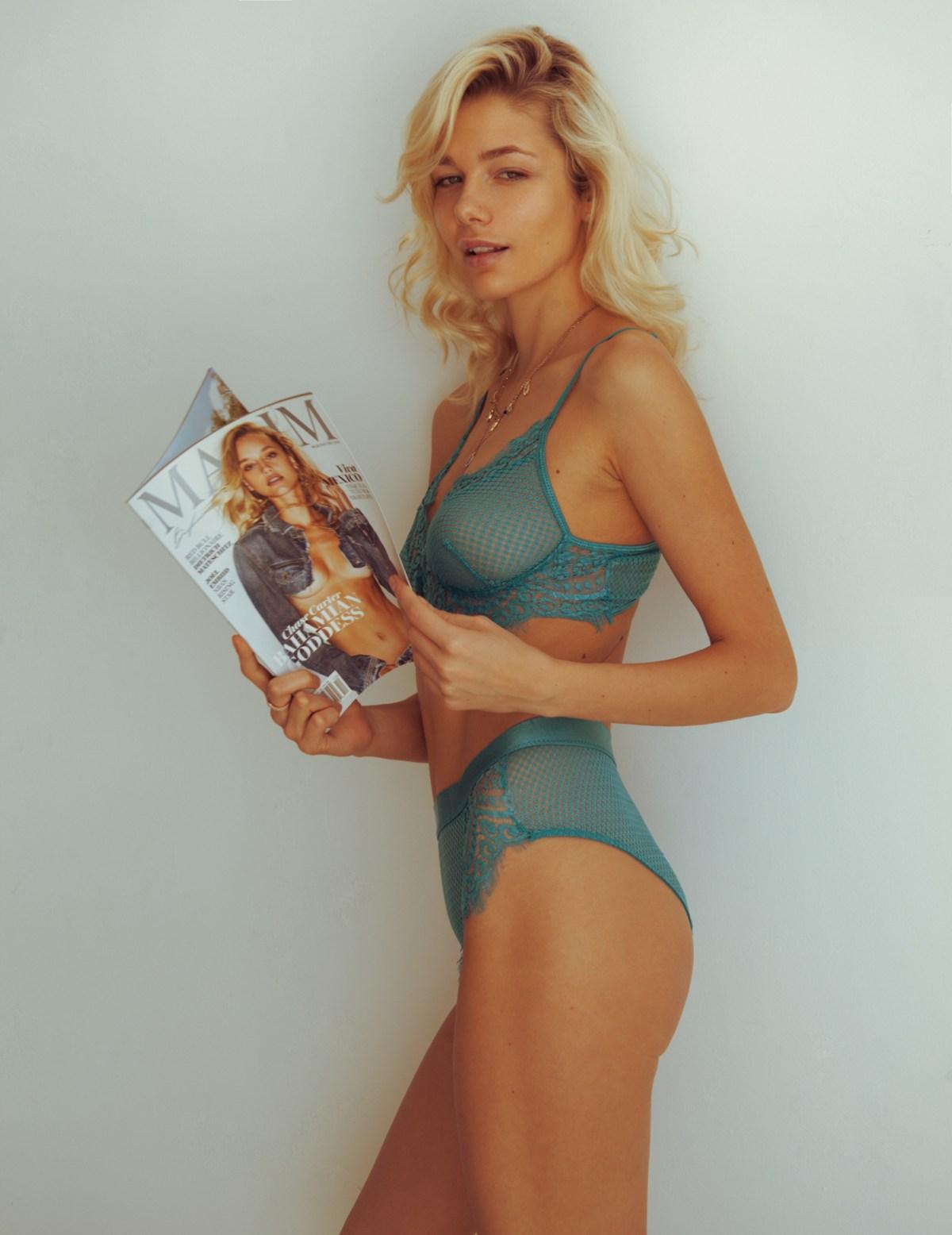 Anastasia Belotskaya by Omar Coria for Maxim Mexico
