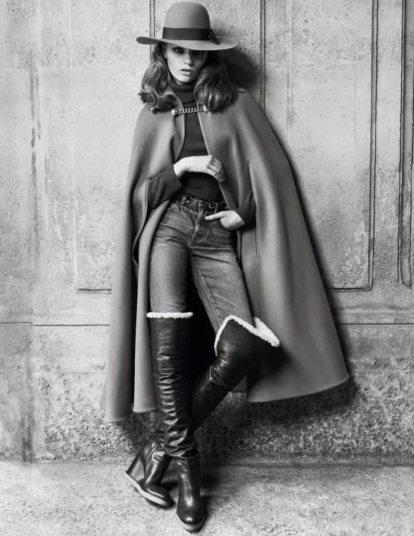 Fran Summers by Hedi Slimane for Vogue Paris