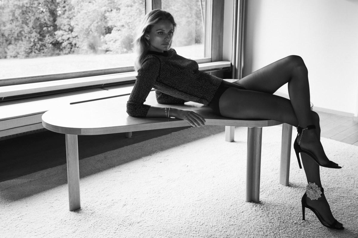 Edita Vilkeviciute by Chris Colls for Vogue Paris