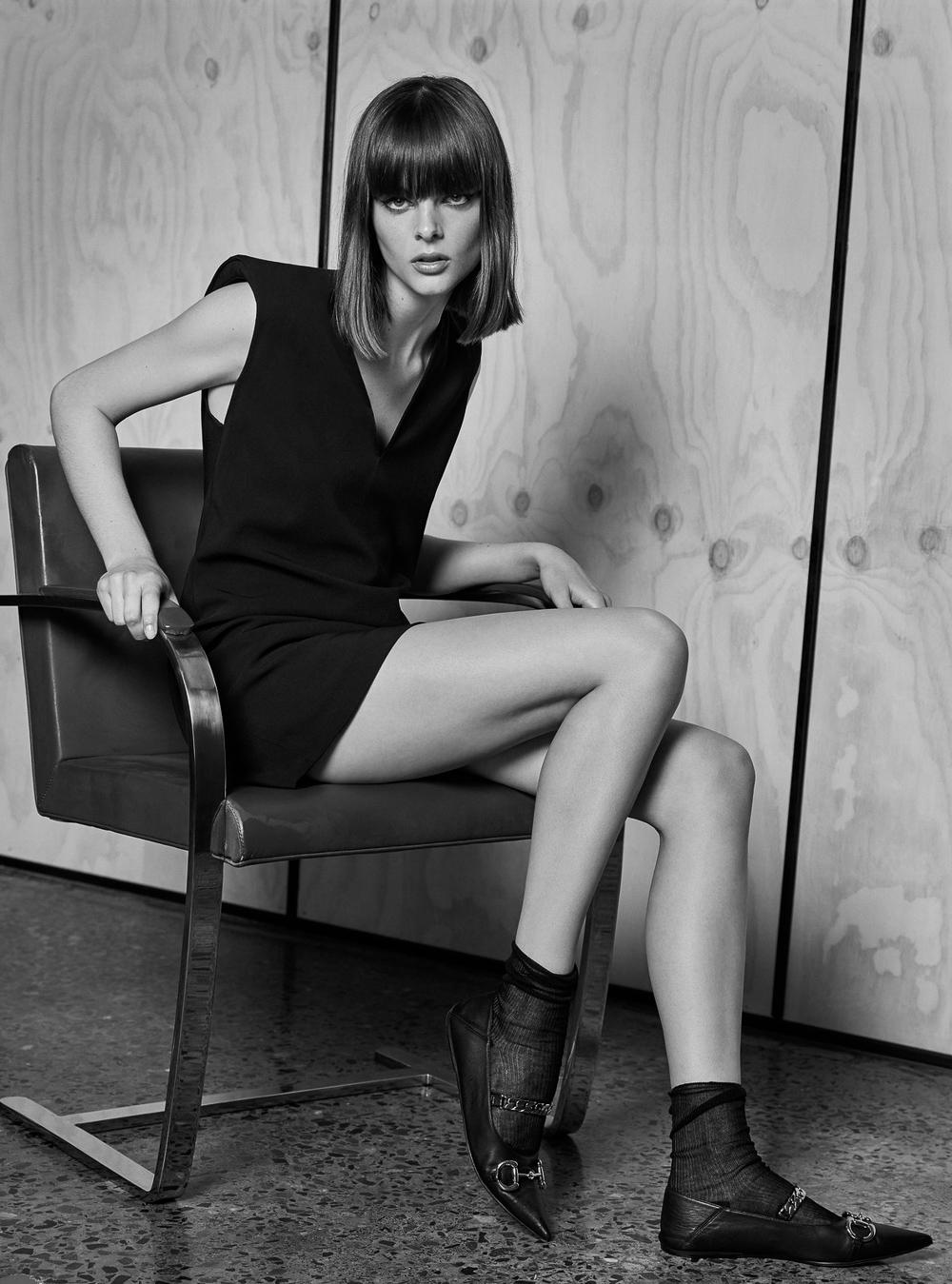 Aylah Peterson by Nicole Bentley for Harper's Bazaar Australia