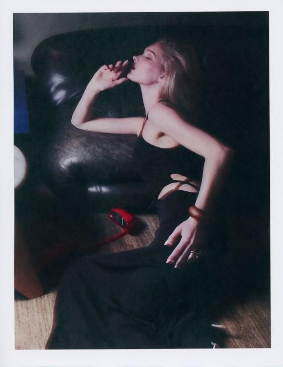 Elsa Hosk by Luke Dickey for V Magazine