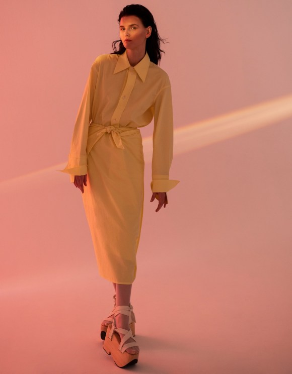 Katlin Aas by Luca Meneghel for Vogue Taiwan