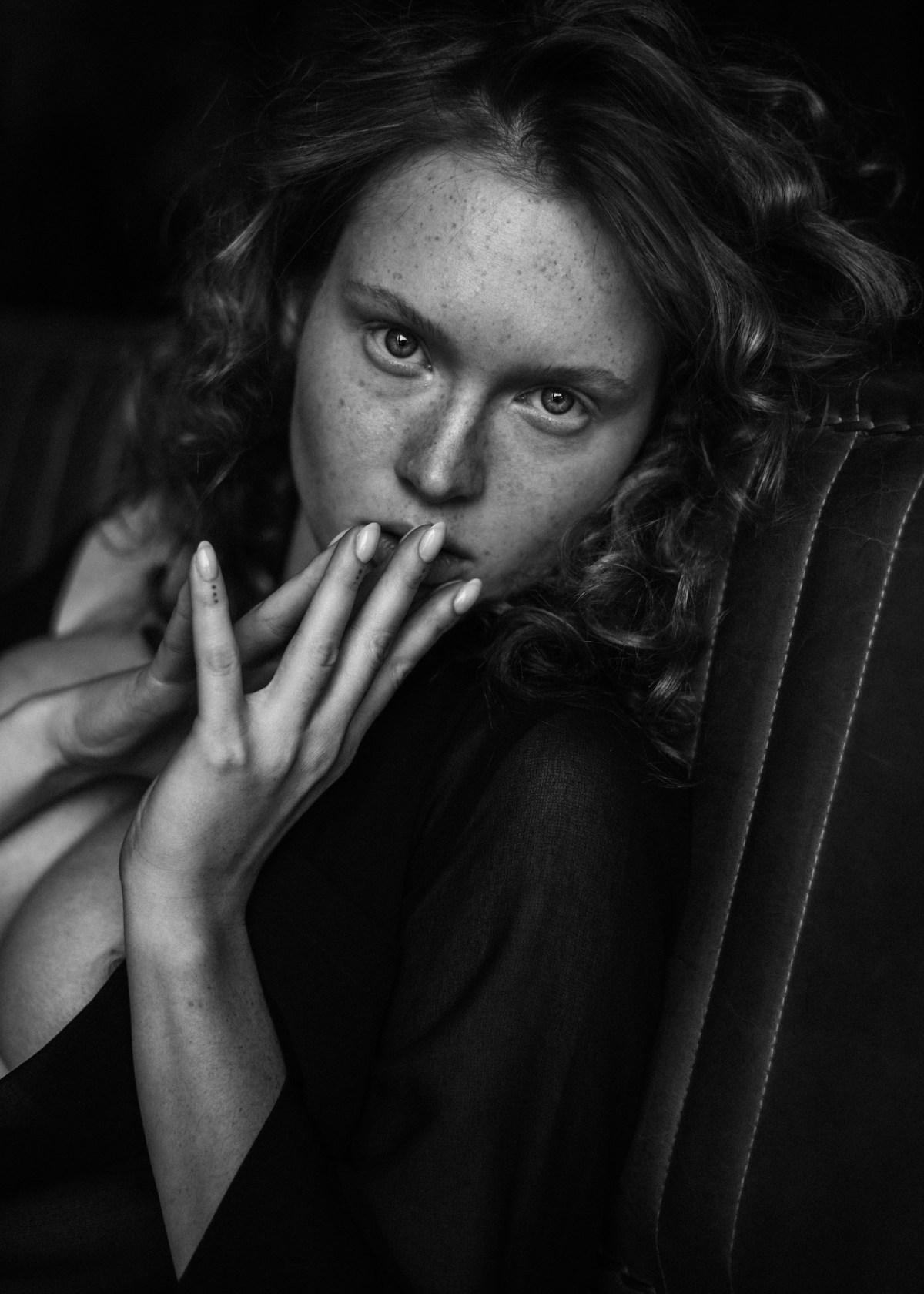 Arina Bikbulatova by Marina Scheglova