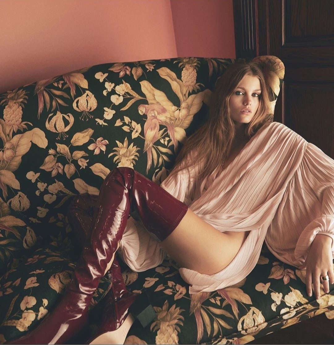 Luna Bijl by Emre Guven for Vogue Turkey