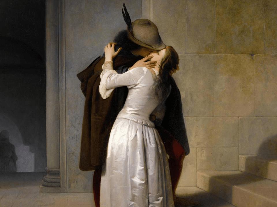 10 baci famosi nella storia dell'arte