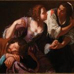 Artemisia Gentileschi-sansone e dalila