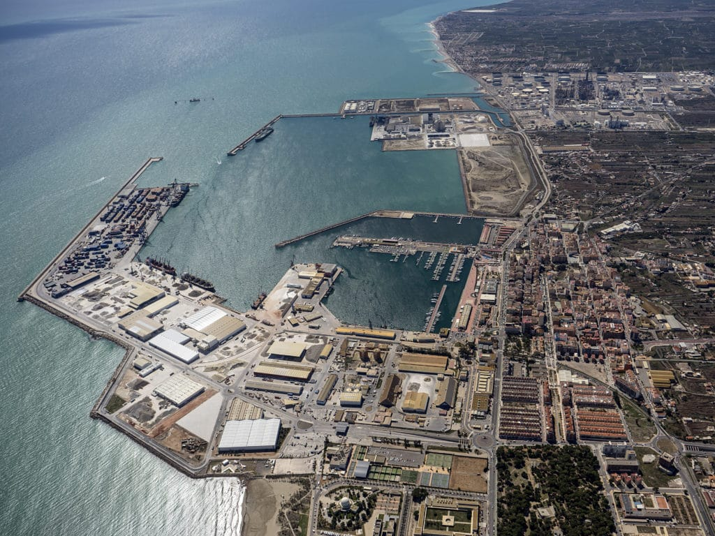 Spanish Institute Says Castellón Port's Anti-dust System Is Efficient