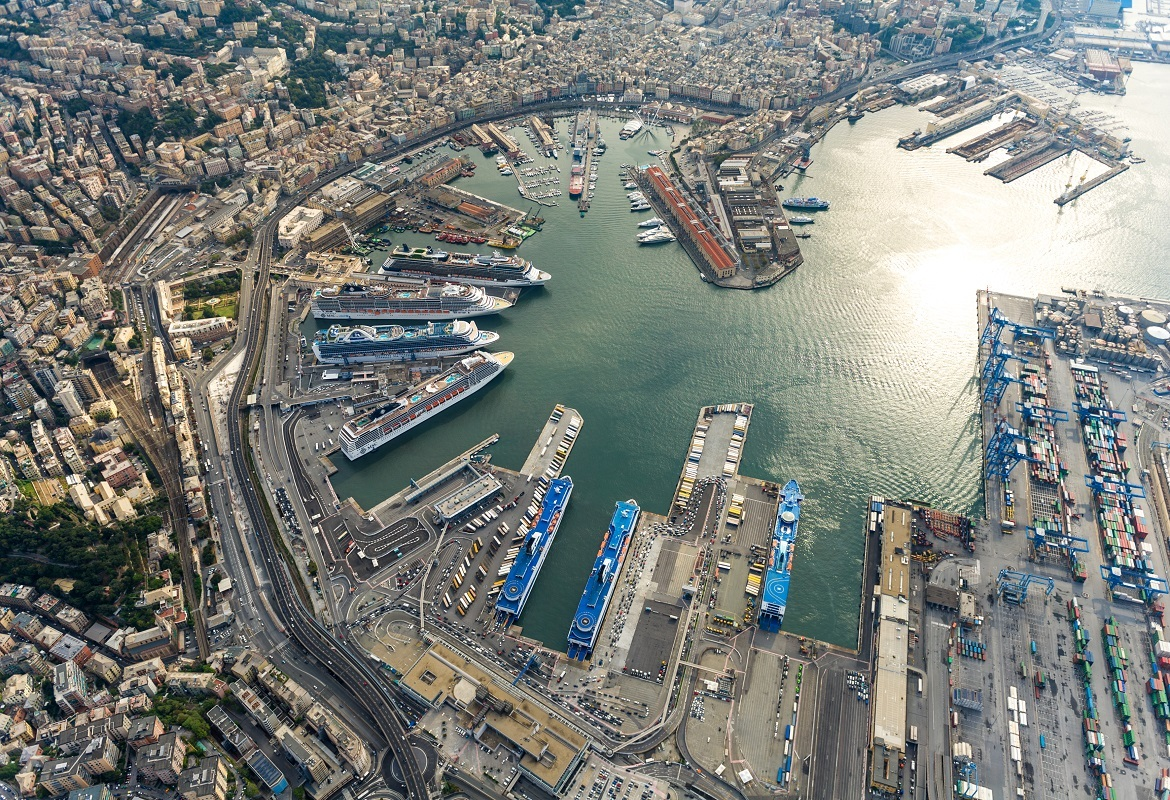 Genoa Port Cargo Traffic Rises 9.1% Y/y In Jan-Oct 2017