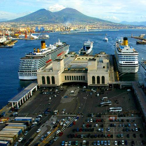 Naples Port Starts Rail Service With China