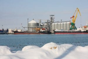Kazakh Caspian Sea Ports Operations Unaffected By COVID-19