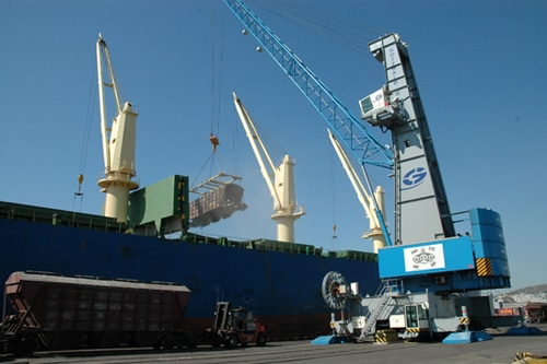 SMM Group Of Companies Delivers The Vityaz Portal Crane To PJSC Novorossiysk Commercial Sea Port