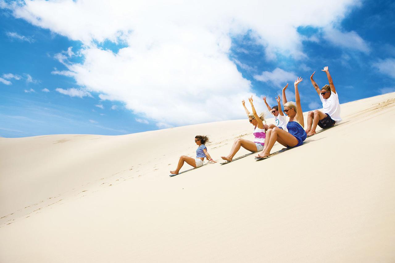Sand Boarding Port Stephens