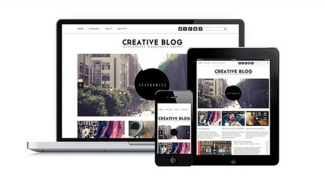 Wordpress Theme Creative Blog