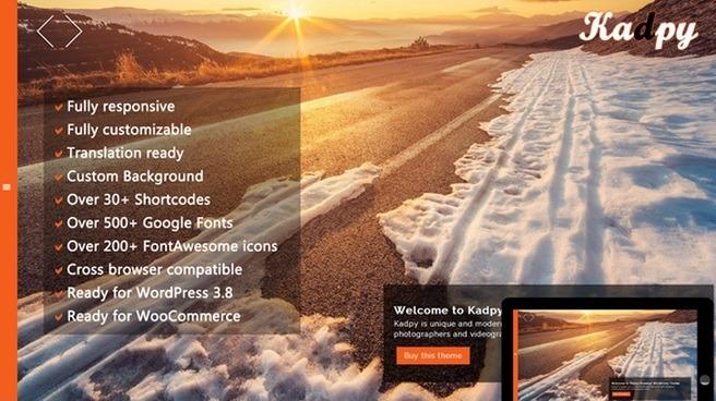 Wordpress Theme Kadpy
