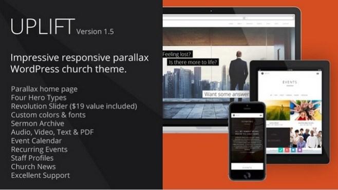 Wordpress Theme Uplift