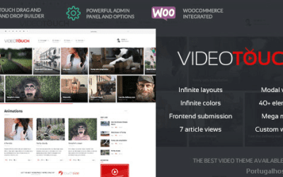 Video WordPress Theme VideoTouch