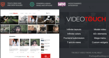 Theme Wordpress VideoTouch ThemeForest
