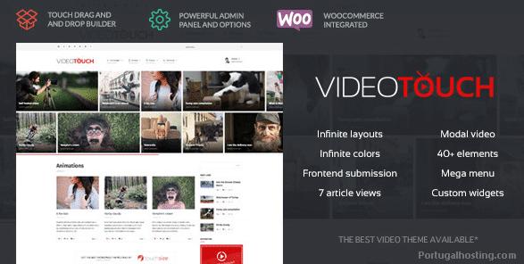 Theme WordPress VideoTouch ThemeForest