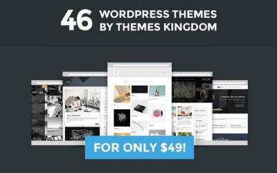 Theme Kingdom: Mega Oferta de Temas WordPress