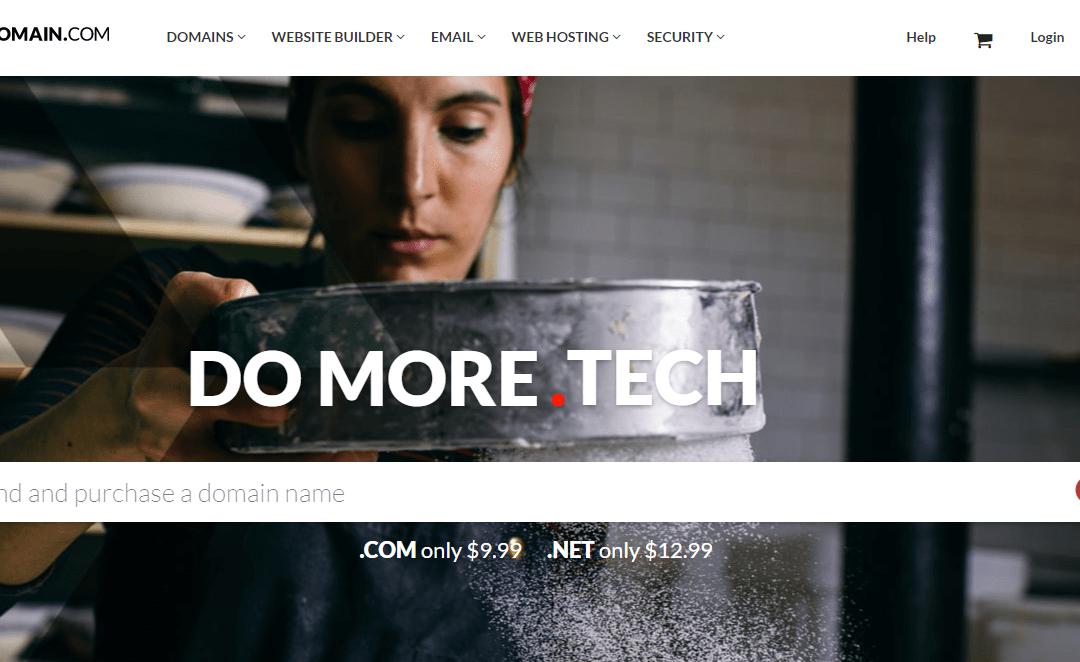 Domain.com Cupon de Desconto April 2019