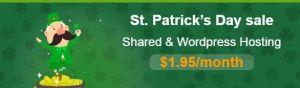 St. Patrick Day Hostpapa