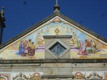 Фасад церкви в Валеге