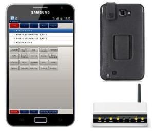 Mobile Funkkasse Handy von E+S Kassensysteme, Kassensoftware