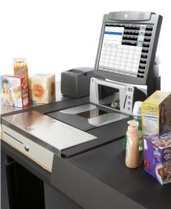 Kasse Supermarkt, kasse lebensmittel, kassensystem supermarkt