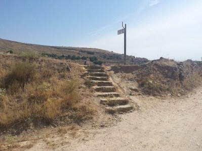 Hacia el Puente de Palmarejos