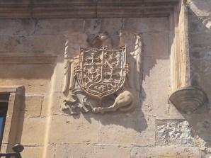 Escudo de los Proaño en la Casa del Moro