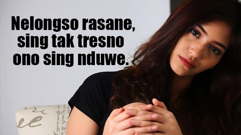 20 Status Galau Bahasa Jawa Tentang Cinta Posbagus
