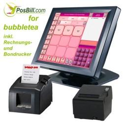 """Die PosBill Touchkasse """"Bubbletea"""""""