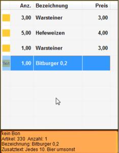 Preisaktion - Rabatte
