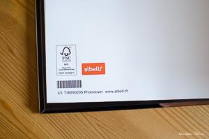 Code barre Album Albelli