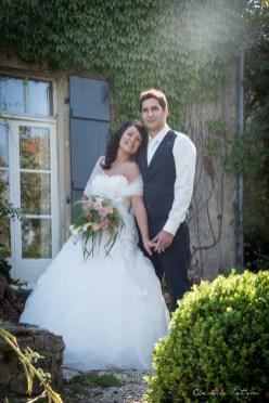 Un couple de mariés en Haute-Saône