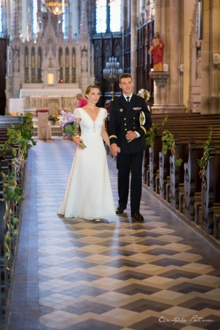 C&B_mariage_ronchamp_sortie-eglise