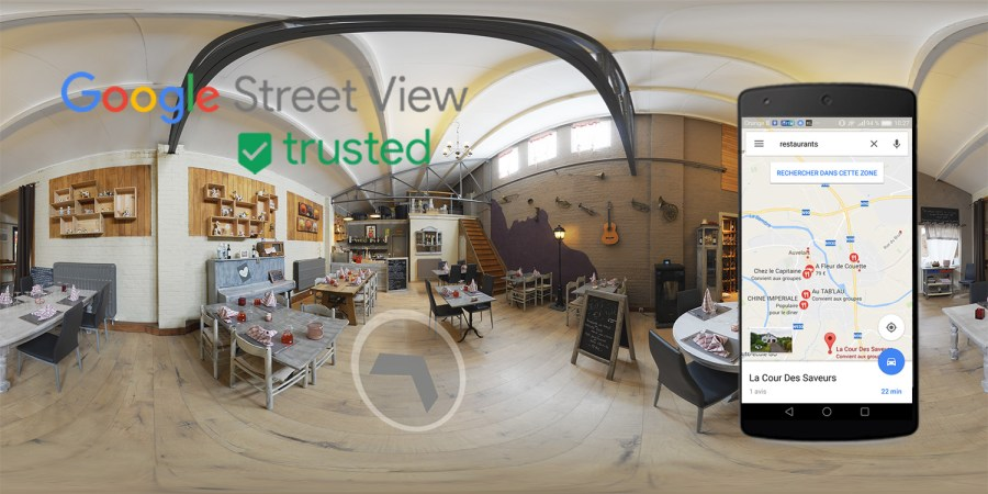 Alain Prudhomme Photographe Google Street View Trusted - Visite virtuelle Google