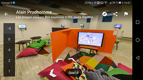Quai10 screen2 Games Gmaps