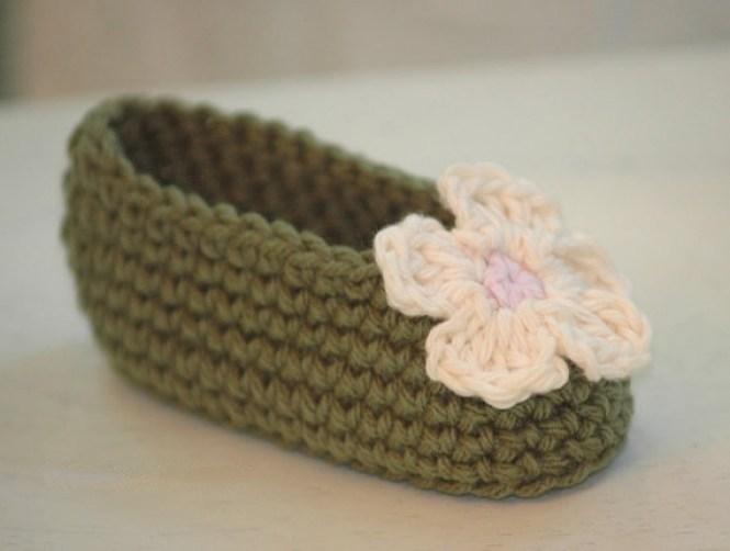 Free Crochet Baby Shoe Pattern